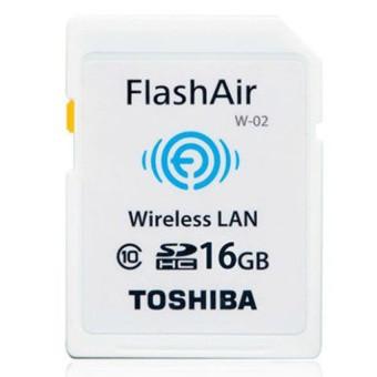 TH3 Thẻ nhớ Toshiba flashair wifi SD 16GB W-02 hàng chính hãng