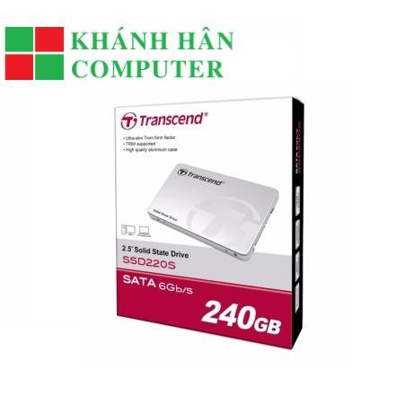 SSD Transcend 240GB SSD220S SATA III / 6Gbps 550MB/s / 450MB/s 2.5inchs - BH chính hãng 36T