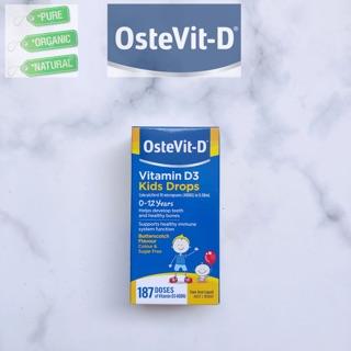 Vitamin D3 Ostevit -D Drops cho bé sơ sinh Úc