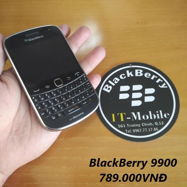 [Máy Mới 100%] Điện thoại BlackBerry 9900 mới 100% tặng tai nghe và dán màn hình