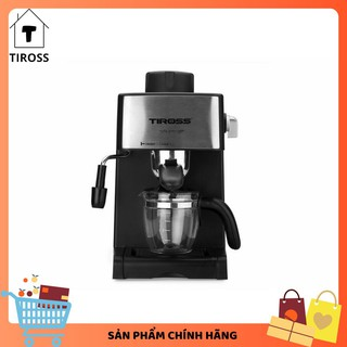 [Tiross123] Máy Pha Cafe Espresso Tiross TS 621, Sản Phẩm Chính Hãng, Bảo Hành 12 Tháng