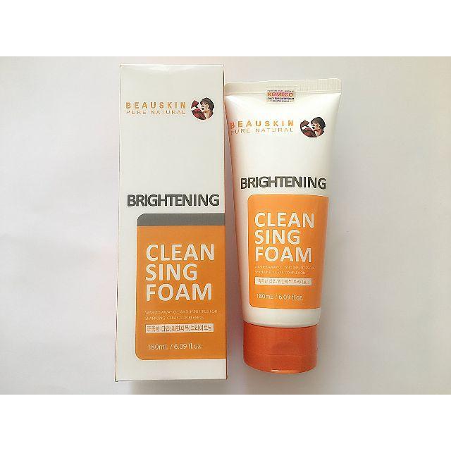 Sữa rửa mặt ngừa mụn Beauskin Brightening Cleansing Foam 180ml - 557