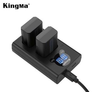 Sạc Đôi USB Sony FW50 Có LCD – Hiệu Kingma NP-fw50 for Sony A6000 A6300 A7 A7r A7s