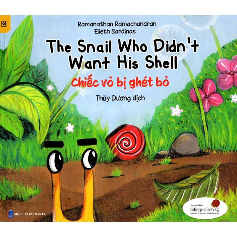 [Sách] Truyện Tranh Singapore - Chiếc Vỏ Bị Ghét Bỏ - The Snail Who Didn