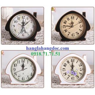 Đồng hồ để bàn phá cách cổ điển & hiện đại Version 4
