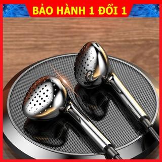 Tai nghe T4, tai nghe có dây nhét tai lõi tứ phiên bản cao cấp, âm thanh nguyên bản chất lượng cao- Bảo hành 1 đổi 1