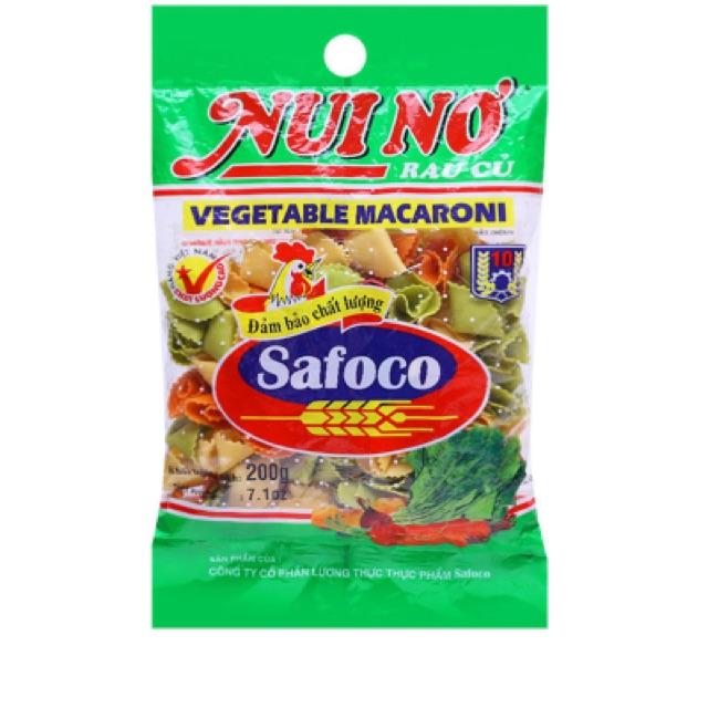 Nui nón rau củ Safoco 200g