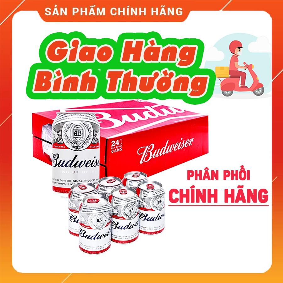 Bia Budweiser 1 Thùng 24 Lon CHÍNH HÃNG GIAO HÀNG NGAY