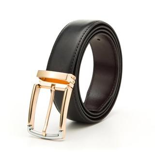 Thắt lưng da nam 4U SHOP màu đen sang trọng Y640D