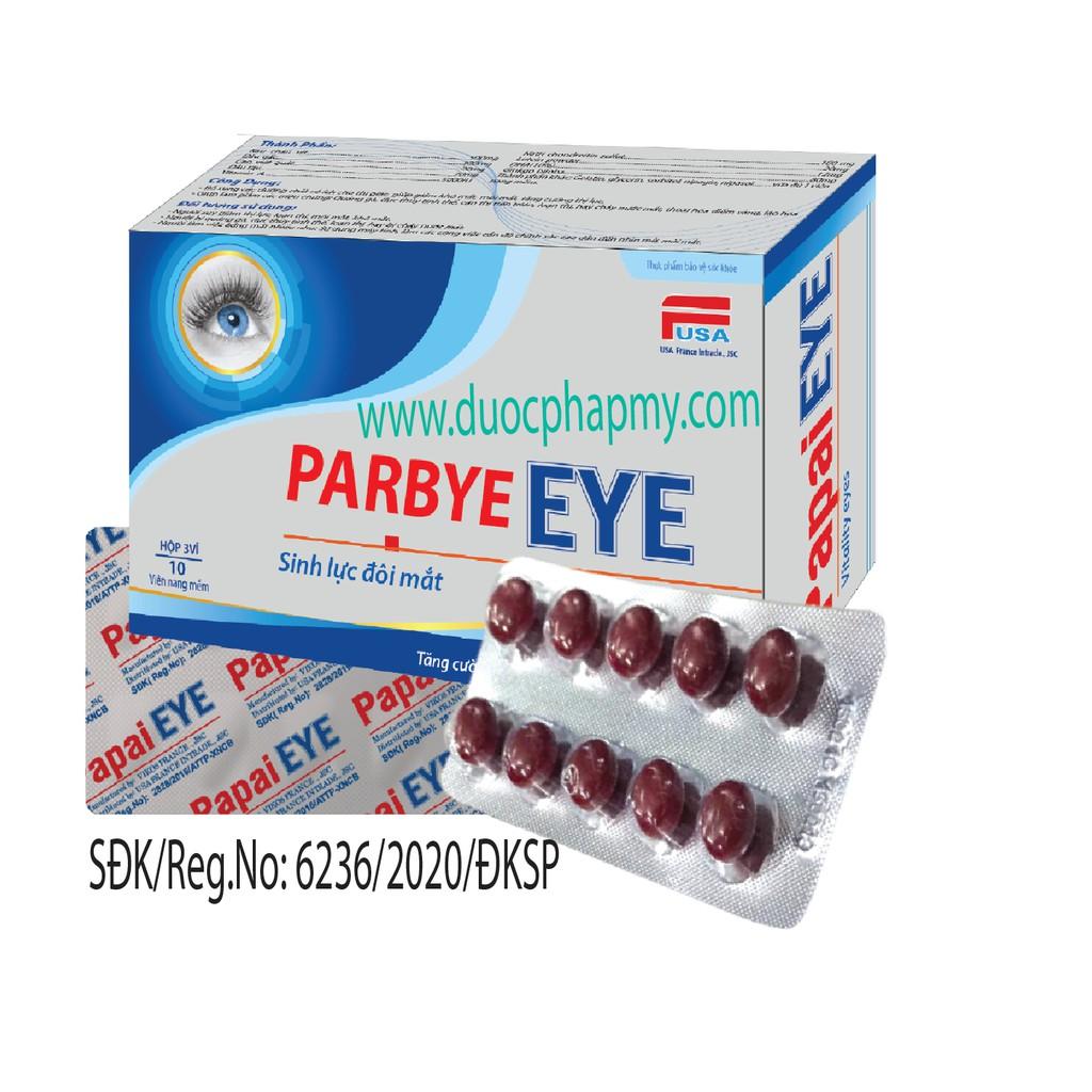 Bổ mắt, sáng mắt phòng ngừa cận thị: Parbye EYE