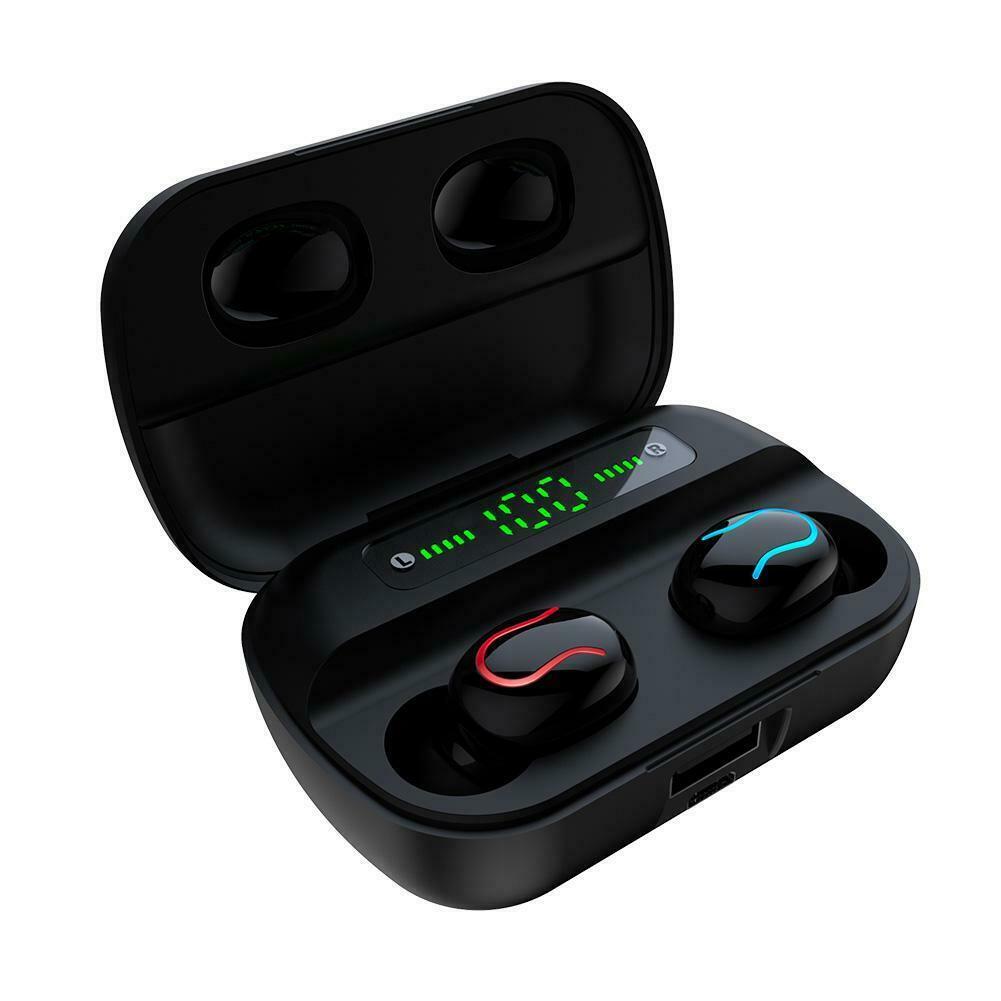 [Mã ELMS05 giảm 5% đơn 300k]Tai Nghe Bluetooth True Wireless HBQ Q82 LED Stereo V5.0 + EDR - Hàng Chính Hãng