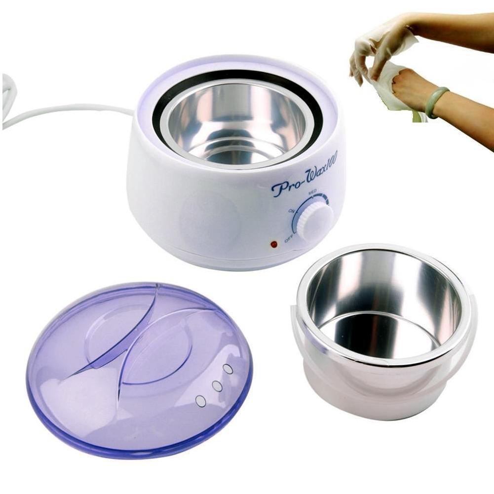 220-240V Wax Heater Single White Pot Warmer Machine Home Salon Spa Hot Paraffin