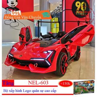 [Giao Hàng Nhanh] Siêu Xe Điện Trẻ Em Nel-603 – Hỗ trợ cước vận chuyển | Đổi trả – BH 12 tháng