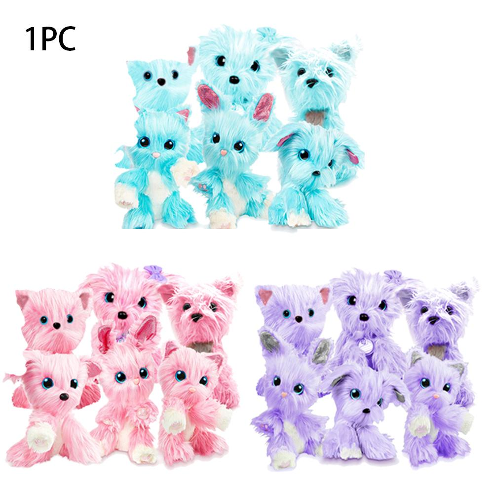Little Live Plush Christmas Kids Gifts Cute Doll Interactive Pet Rescue Toy Soft Pomsies