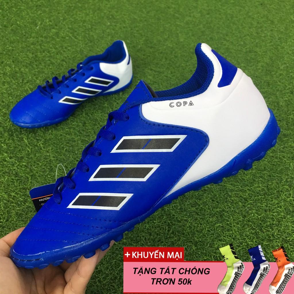 Giày đá bóng Sân Cỏ Nhân tạo Winbro Copa Trẻ Em TF - Màu Xanh Biển