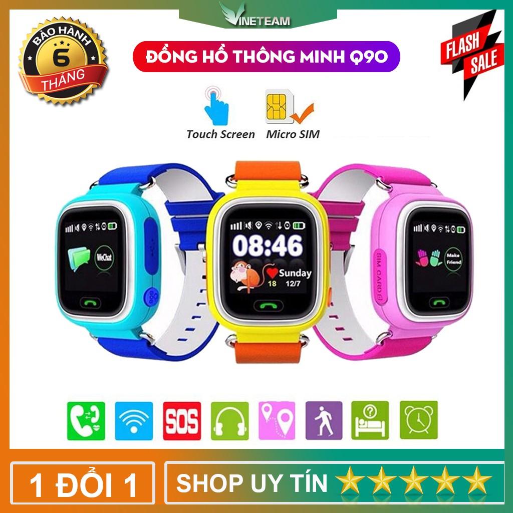 Đồng Hồ Thông Minh Nghe Gọi Q90 Có Định Vị Cho Trẻ Em-Bản Quốc Tế -dc3364