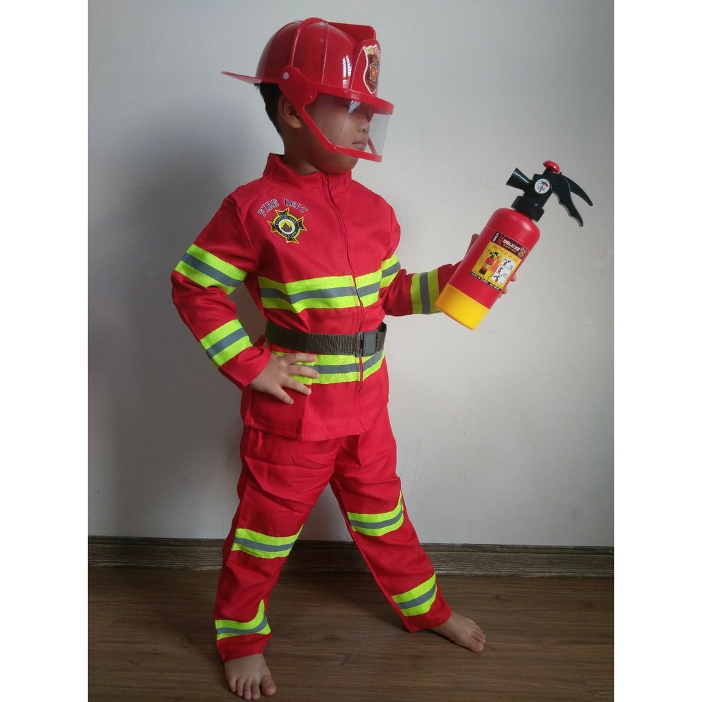 Đồ chơi bé làm lính cứu hỏa