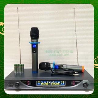 Micro không dây hát karaoke SEBS99i - mic ko dây chính hãng BH 12 tháng giá tốt hơn shure. .