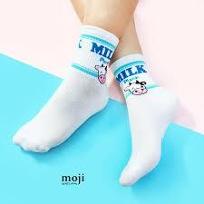 Tất nữ milk