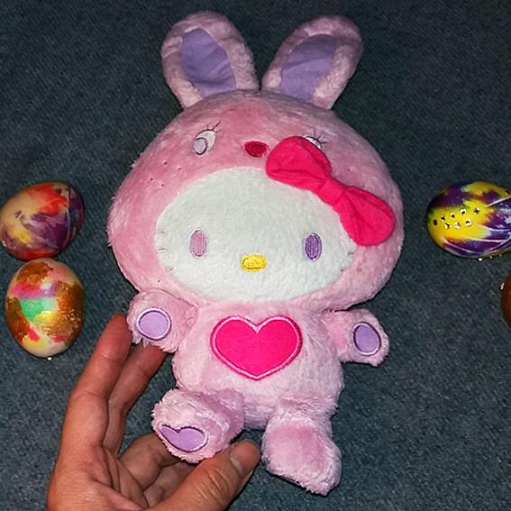 Gấu Bông Hello Kitty Hàng Hiệu Đẹp, Dễ thương, Giá rẻ vô cùng (Hàng Si tuyển)