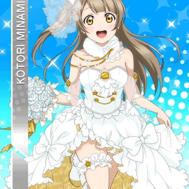 Đồ cosplay Kotori ver wedding