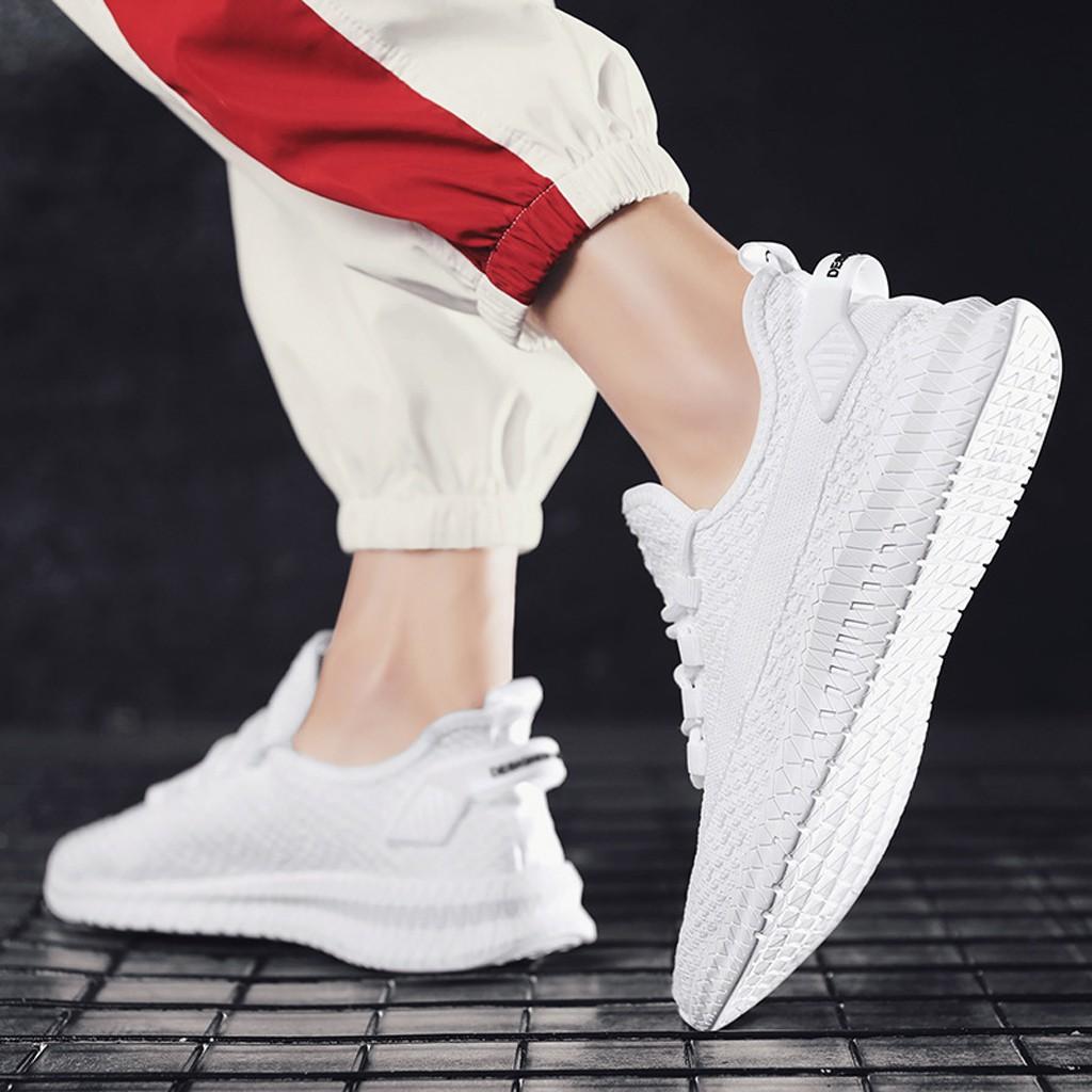 Giày Sneaker Nam [ FREESHIP ]Giày Thể Thao Nam siêu nhẹ siêu thoáng - G31