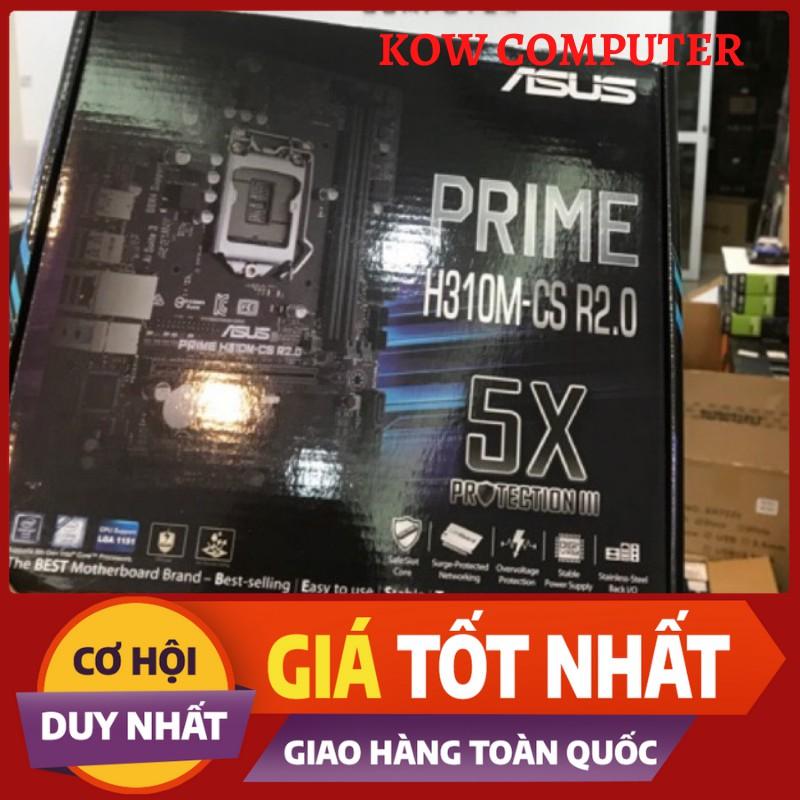Bo Mạch Chủ Mainboard - ASUS PRIME H310M-CS R2.0 - Hàng Chính Hãng