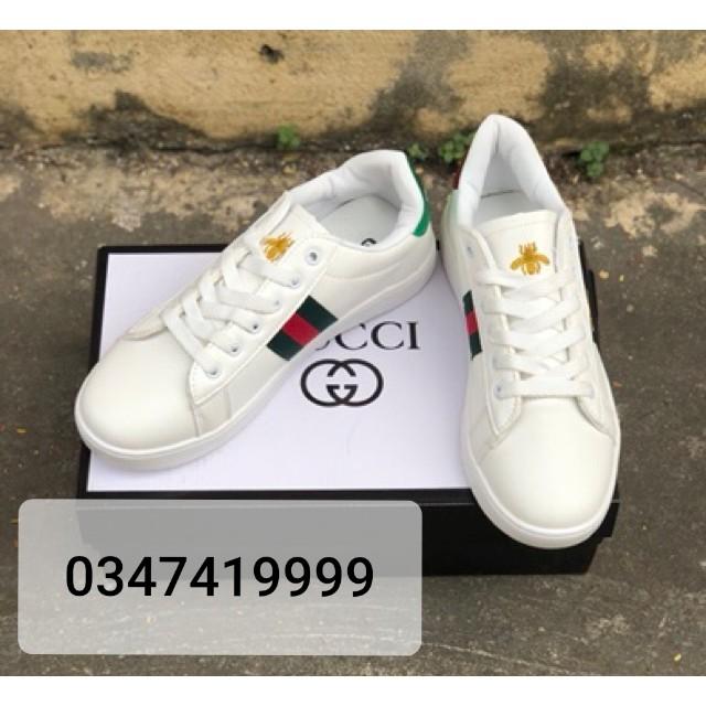 [Giá Sốc] Giày thể thao Gucci Ong hàng có sẵn (tặng hộp kèm theo)