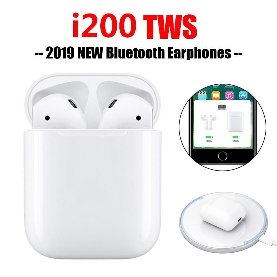 Tai nghe bluetooth i200 TWS kết nối không dây - BH 1 đổi 1