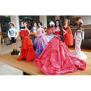 Váy Cưới – Đầm Dạ Hội Cho Búp Bê