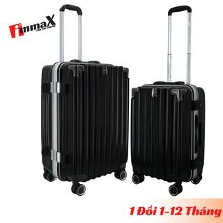 Bộ 2 vali khung nhôm nắp gập immaX A18 size 20inch + 24inch thumbnail