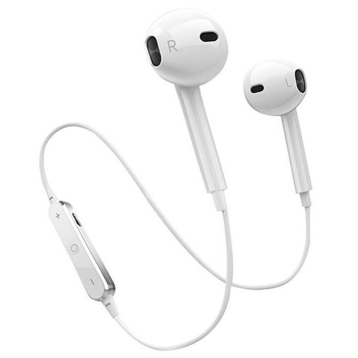 Tai nghe Bluetooth S6 siêu bass không dây, có mic đàm thoại