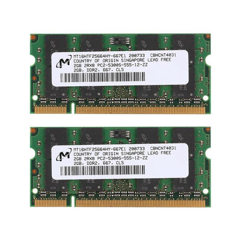RAM Laptop 2G DDR2 cũ tháo máy (Ram Laptop PC2-2G cũ) BH 06 tháng