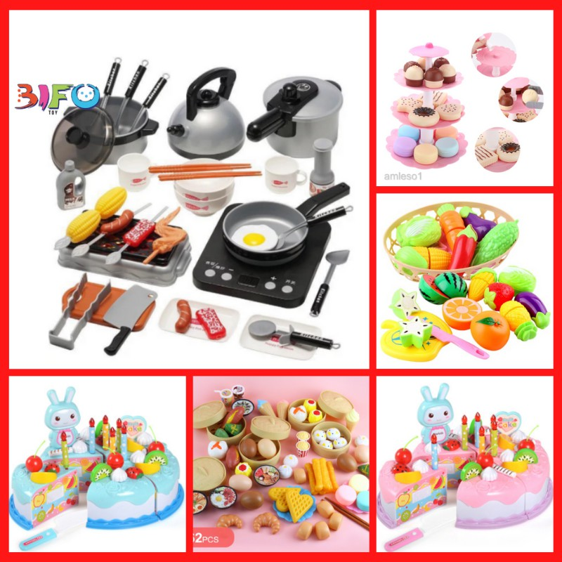 [Mã 1510FMCGSALE giảm 8% đơn 500K] Bộ đồ chơi nấu ăn 36 món có bếp, thiết kế y như thật