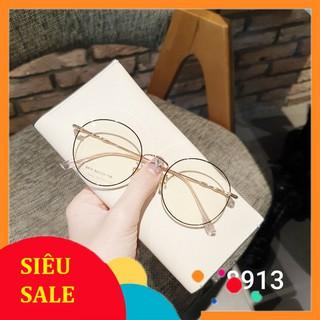 Gọng kính kim loại tròn thời trang 8913