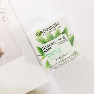 Kem dưỡng Garnier trà xanh cho da dầu