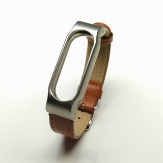 Dây đeo thay thế da dành cho Xiaomi miband 2, tặng 1 miếng dán