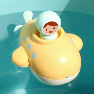 Tầu ngầm vặn dây cót (đồ chơi nhà tắm)