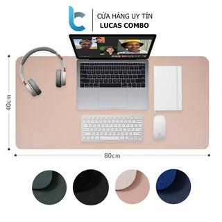 Thảm da trải bàn làm việc Deskpad Lucas (40x80cm) thumbnail