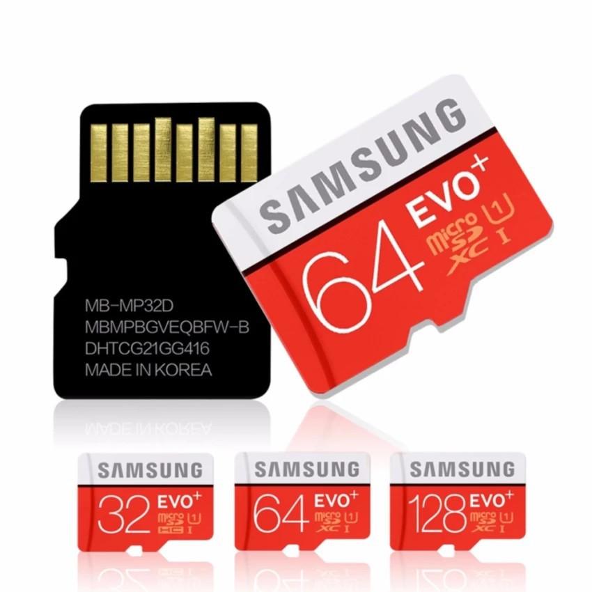 Thẻ nhớ Micro SD hiệu Samsung với dung lượng 16GB/32GB/64GB/128GB