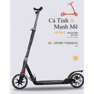 Xe Trượt Scooter Gấp Gọn Cao Cấp Dáng Thể Thao – SCOOTER SPORT VERSION