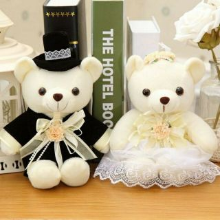 Gấu bông cặp Cô dâu – Chú rể xinh xắn