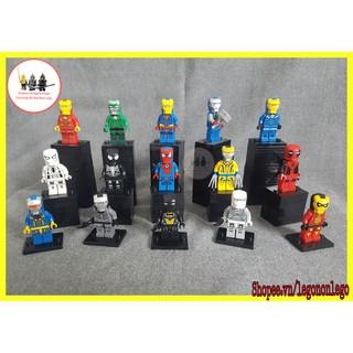 Minifigures lego siêu anh hùng Iron Man người sắt Crossover hộp ZHBO hàng hiếm thumbnail