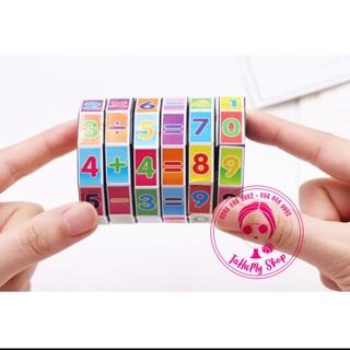 Rubic học toán cho bé