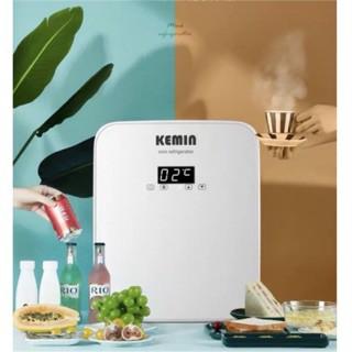 Tủ lạnh mini đựng mỹ phẩm, thuốc chính hãng Kemin 16L có màn hình Led có thể điều chỉnh nhiệt độ
