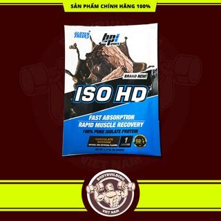 Gói thử Sample sữa tăng cơ bắp Bpi Bpisports Iso HD 100% whey isolate 1 lần dùng (32gram)