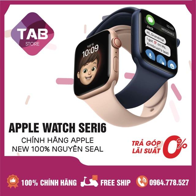 Đồng Hồ Apple Watch Seri6 GPS Only Aluminum Sport Band - Nguyên Seal