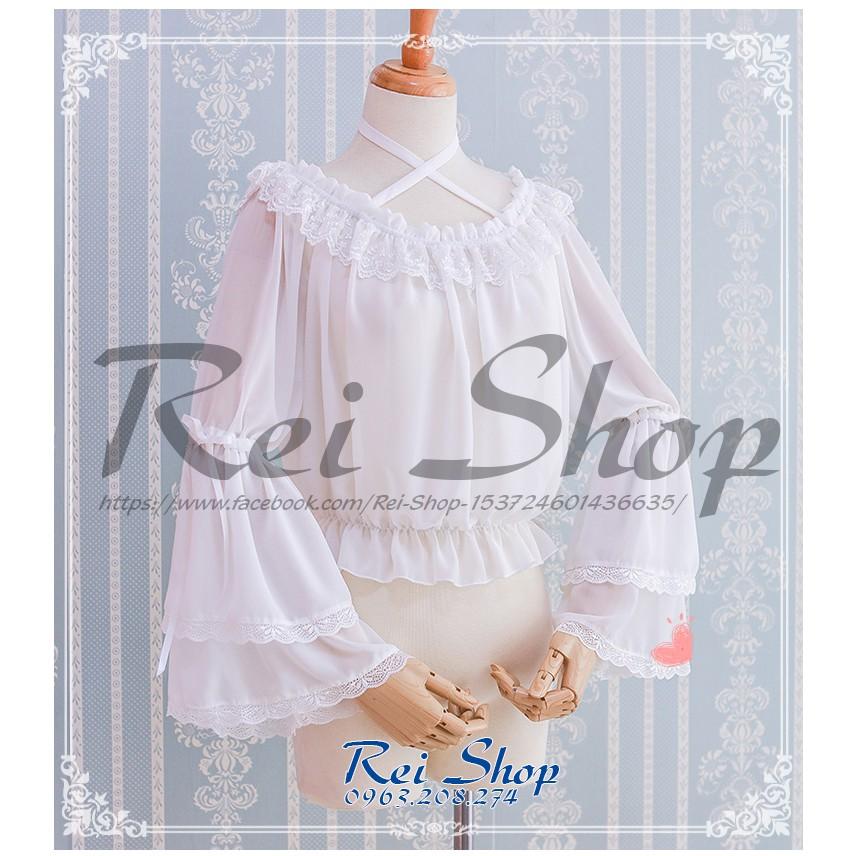 Áo Blouse mặc cùng váy lolita điệu đà - 3022124 , 625213527 , 322_625213527 , 349000 , Ao-Blouse-mac-cung-vay-lolita-dieu-da-322_625213527 , shopee.vn , Áo Blouse mặc cùng váy lolita điệu đà