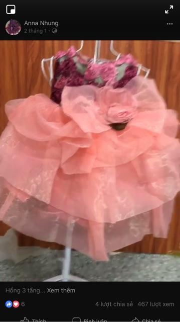 Đầm công chúa xinh xắn