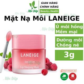 Mặt Nạ Ngủ Môi Laneige Lip Sleeping Mask - Mặt nạ ngủ ủ môi LANEIGE mini dưỡng môi 3g